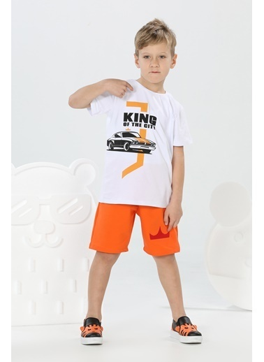 Lupiakids Road King Şort+T-Shirt Takım Renkli